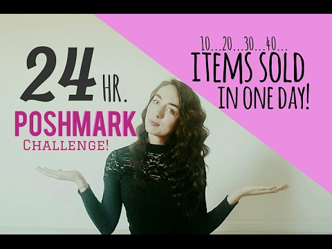 Poshmark Challenge! | Items Sold in One Day!