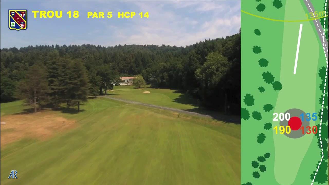 Vidéo du trou numéro 18 | Golf La Barouge Mazamet