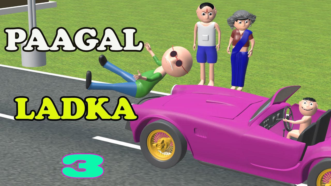 Paagal Ladka 3 | Comedy hindi |  CS Toons | CS JOKES | Paagal Beta