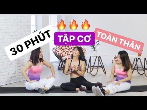 Bài tập cơ toàn thân tại nhà cho người mới bắt đầu (Beginner) | Workout #93 ♡ Hana Giang Anh
