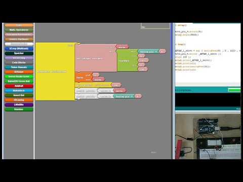 Ardublock Tutorial Servo Motoren - YouTube