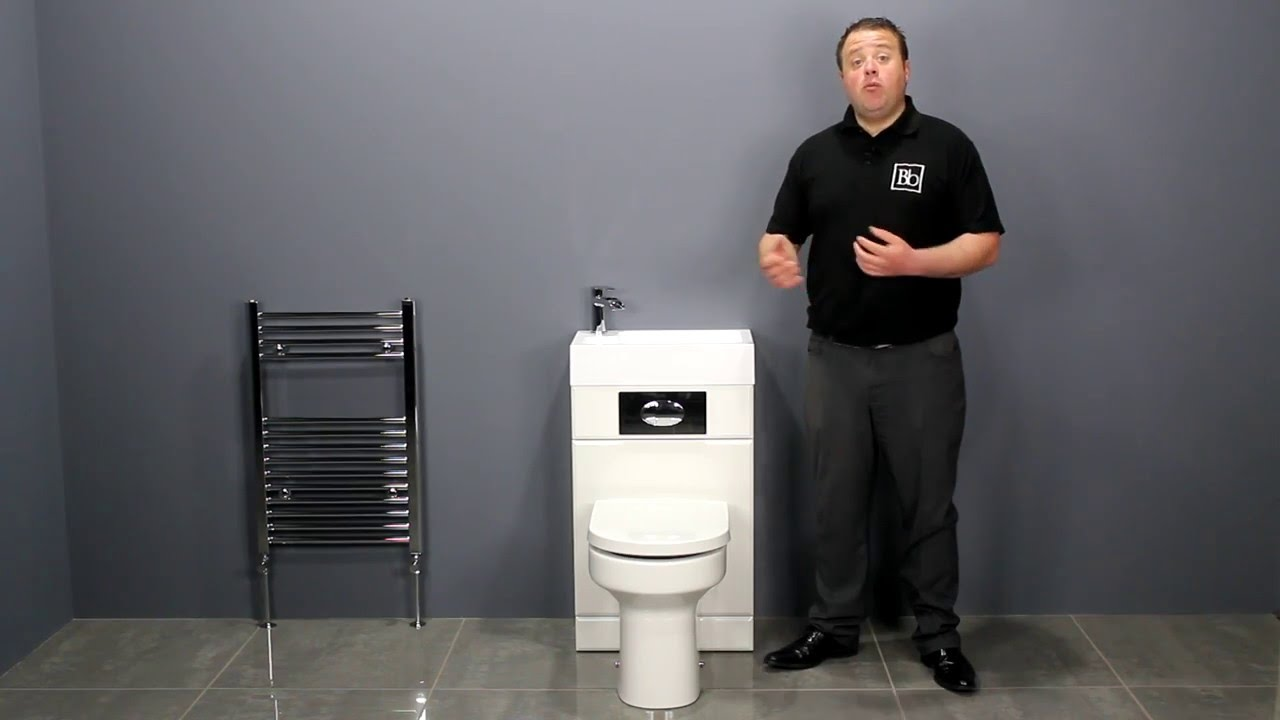 Toilet With Integrated Basin Eco