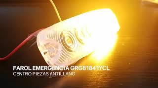 FAROL EMERGENCIA GRG81841YCL