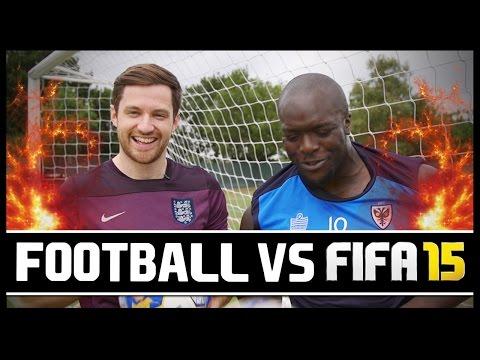 FOOTBALL VS FIFA WITH AKINFENWA!!!