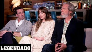 [LEGENDADO] Dakota Johnson, Jon Hamm e Jeff Bridges - JoBlo Celebrity Interviews
