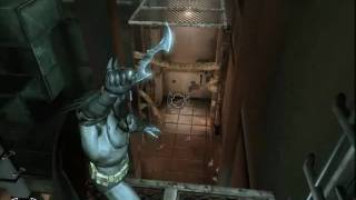 BATMAN ARKHAM ASYLUM - PHYXS AND NO  PHYXS ATI XP