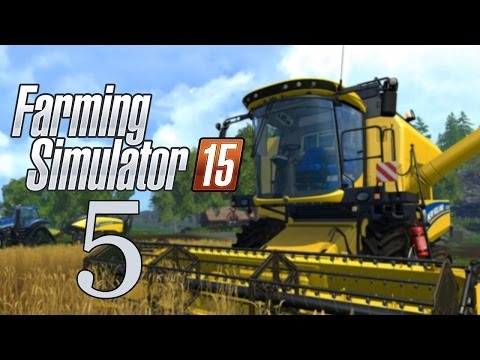 Let's Play Farming Simulator 15 - Part 5 - Melbourne Cup Day