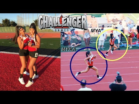 WE TIED AT LOGAN PAUL'S CHALLENGER GAMES?!? | MontoyaTwinz