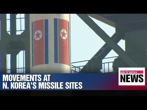 Movements detected at N. Korea's missile sites
