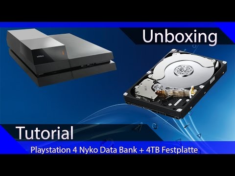 Tutorial: Festplatte der PS4 wechseln | Doovi