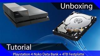 Unboxing Tutorial - Nyko Databank PS4 - 4TB