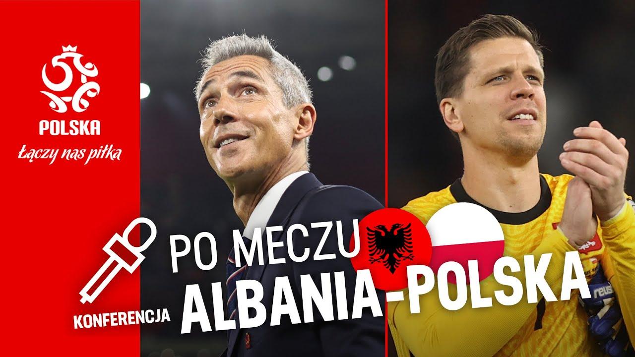 SOUSA PO MECZU Z ALBANIĄ. Oficjalna konferencja prasowa reprezentacji Polski