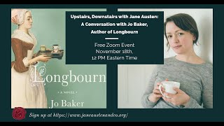 Jane Austen and Co: A Conversation With Jo Baker