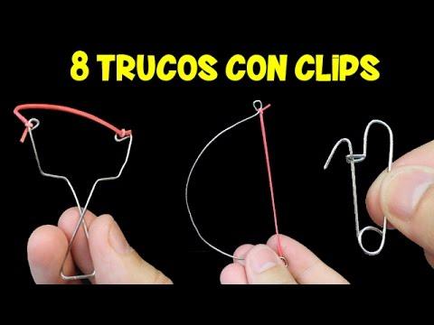 8 Trucos con Clips | Lifehacks con Clips