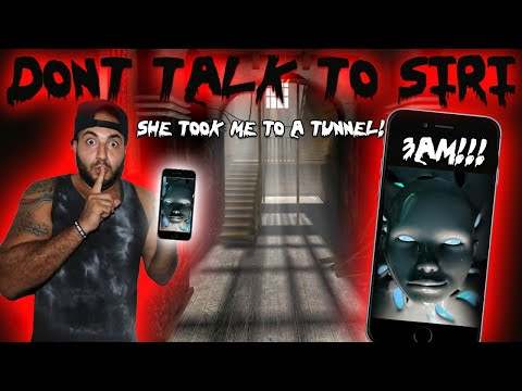 DO NOT TALK TO SIRI AT 3 AM IN CENTURY MANOR // MOST HAUNTED PLACE IN CANADA! TUNNELS FOUND!