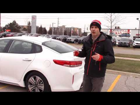 Kia Optima PHEV First Look. Have questions? Ask us!