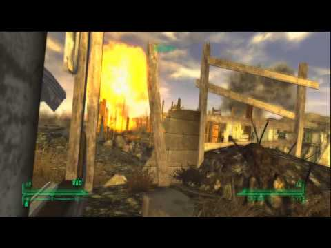 Fallout New Vegas | How To Get Into Nellis Air Force Base Walkthrough