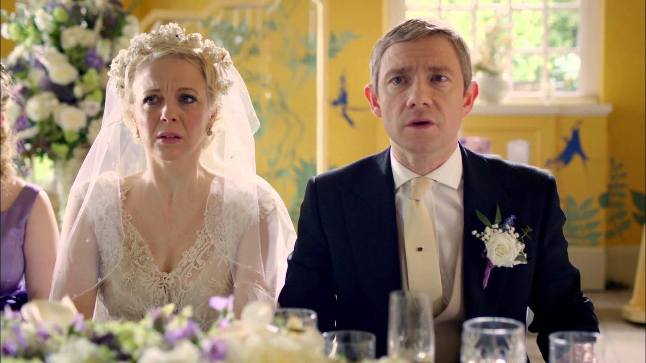 Amanda Abbington Sherlock Wedding SHERLOCK S3E2: THE SIG...