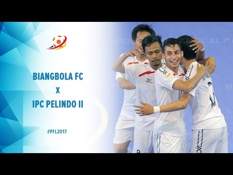 Biangbola FC Bogor Vs IPC Pelindo II Jakarta - Highlight Pro Futsal League 2017