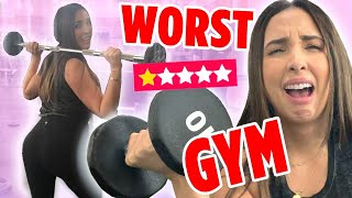 I WENT TO THE WORST REVIEWED GYM IN MY CITY ON YELP (1 STAR ⭐️) | Mar