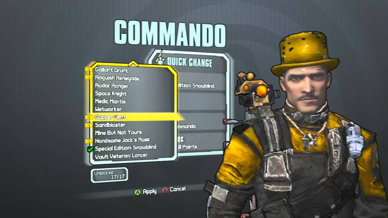 Borderlands 2 *UPDATED* ALL Skins / ALL Heads for Every ...