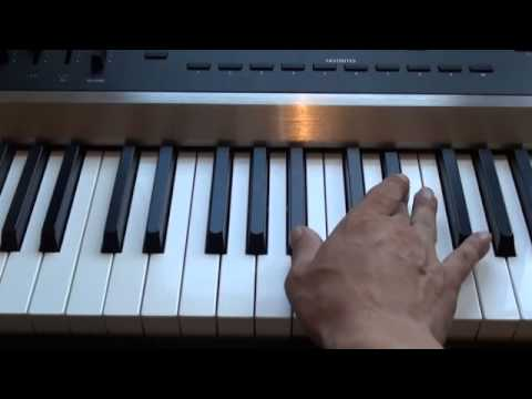 How to play Warrior by Beth Crowley on piano