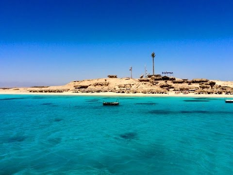 Mahmya Island, Hurghada Egypt Thomson Excursion - GoPro Hero 4 Black [Must watch in 4K]