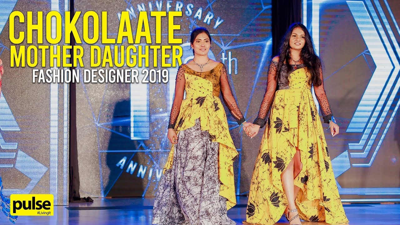 Chokolaate Mother Daughter Fashion Designer 2019