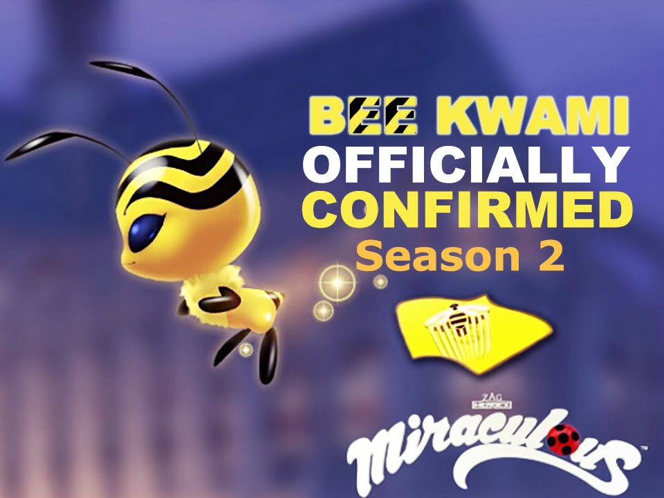 Miraculous Bee Kwami Officially Revealed New Superhero Miraculous