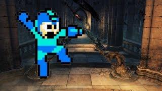 Dark Souls 2 - Mega Souls 2 - Mega Man Cosplay