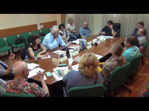 Встреча жителей МО Хорошевский по вопросу ограждающих устройств
