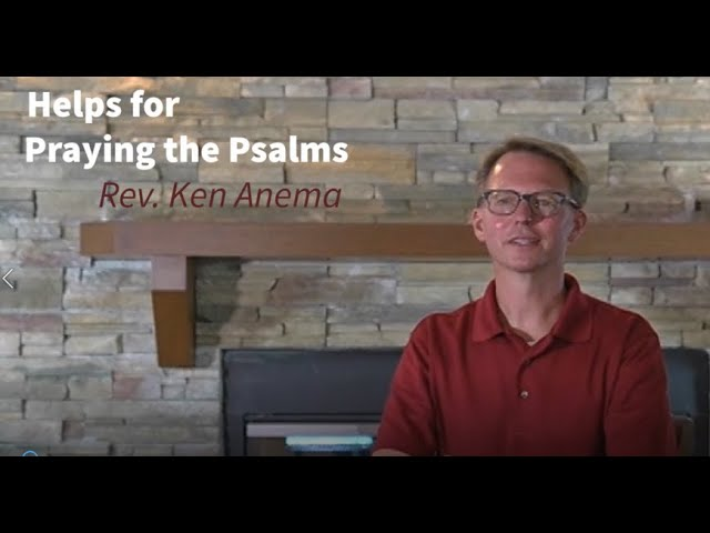 Helps for Praying the Psalms