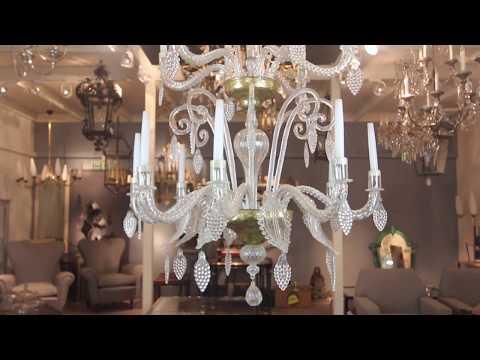 Antique Lighting Restoration And Chandelier