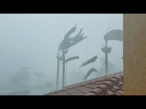 Hurricane IRMA Blasts Naples, Florida (2017)