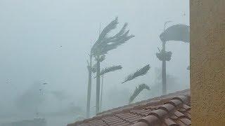 Hurricane IRMA Blasts Naples, Florida (2017)