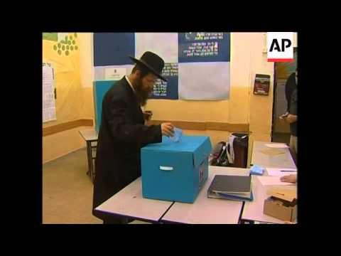 Polls open in Israeli election, vox pops, security