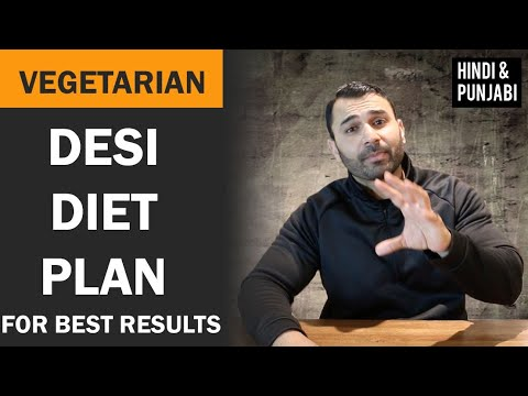 Vegetarian FAT LOSS DESI DIET Plan! (Hindi / Punjabi)