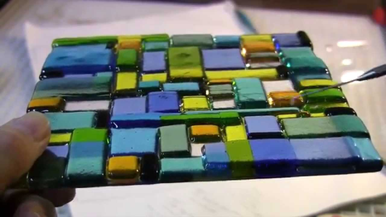 Transparency Overlays A Fused Glass Forte Youtube