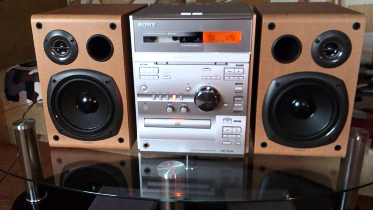 Sony Cmt-cp2w Klasyk Od Sony