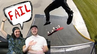 Our Funny Skateboard Fails