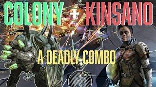 Halo Wars 2: Colony & Kinsano - Deadly Combination!