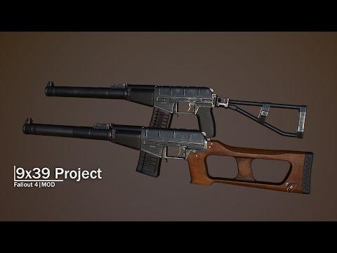9x39 Project - Fallout 4 Mod