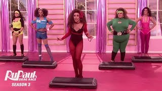 RuPaul's Drag Race   Main Challenge: Fitness Video Workout