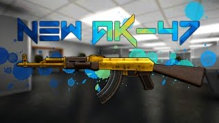 Bullet Force Update: New AK-47 + Gameplay