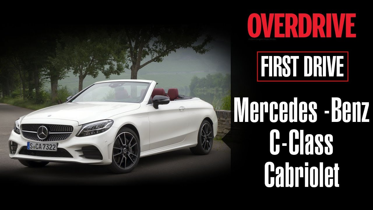 First Drive 2019 Mercedes Benz C Cl Cabriolet Overdrive