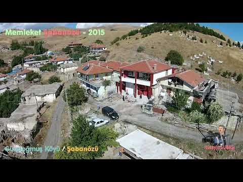 Gündoğmuş Köyü - Şabanözü - Havadan Görüntüleme