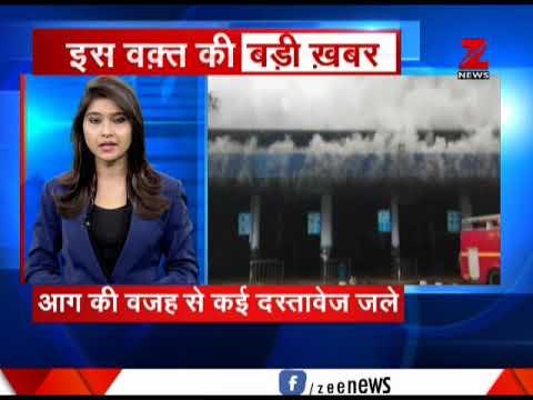 Fire erupts at RTO office in Goa's Panaji | गोवा के पणजी में RTO दफ्तर में आग