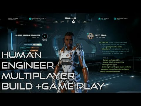 Human Engineer Build - Mass Effect Andromeda