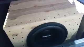 Subwoofer ARIA-15D2 BZ