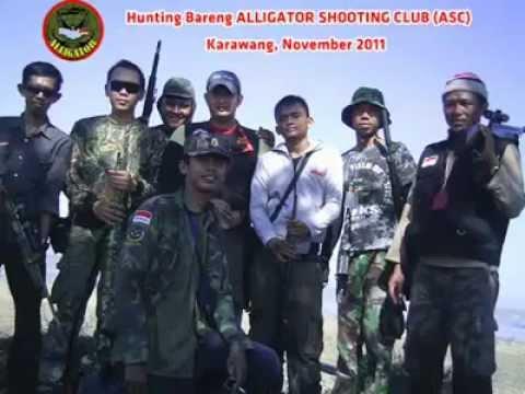 Berburu Tekukur di Kawasan Pertanian Karawang